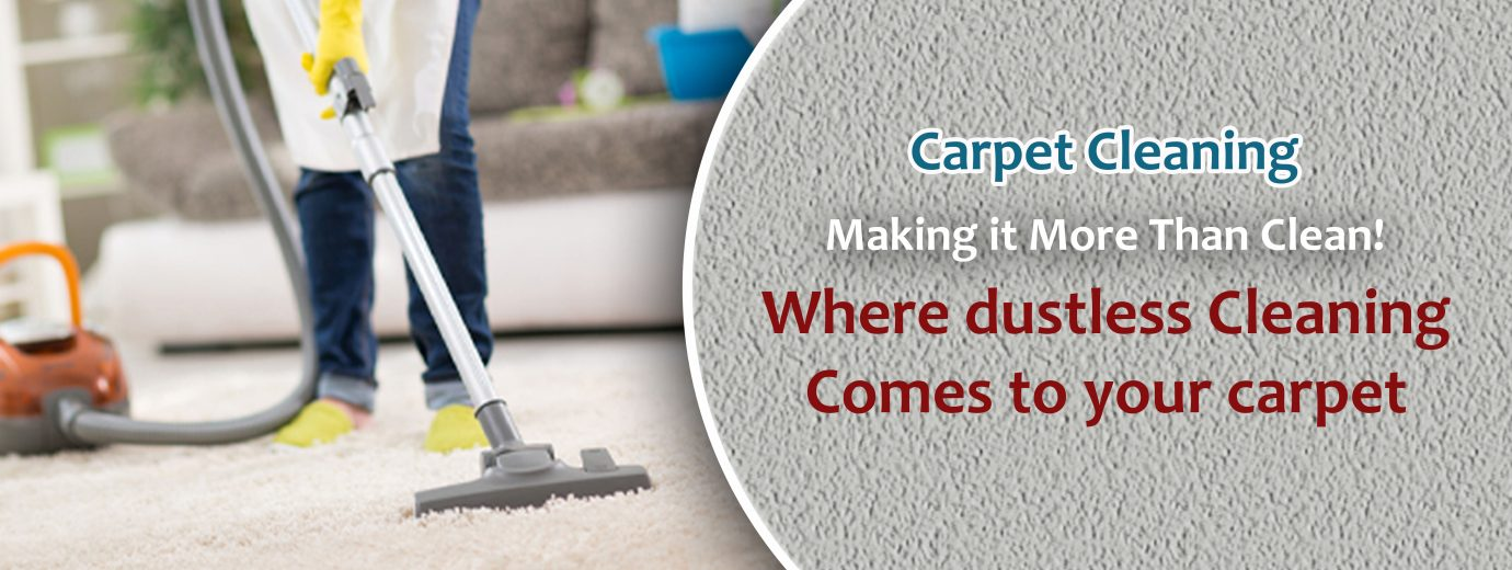Carpet cleaning by my maids